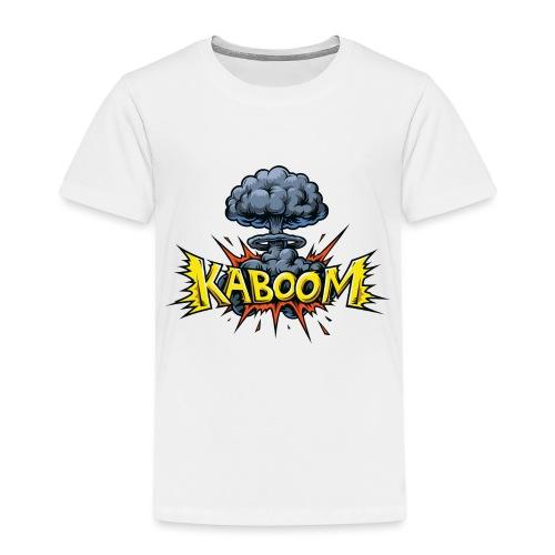 Explosion nucléaire Kaboom - T-shirt Premium Enfant