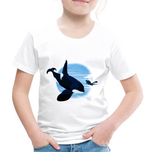 Orca en dappere duiker - T-shirt Premium Enfant