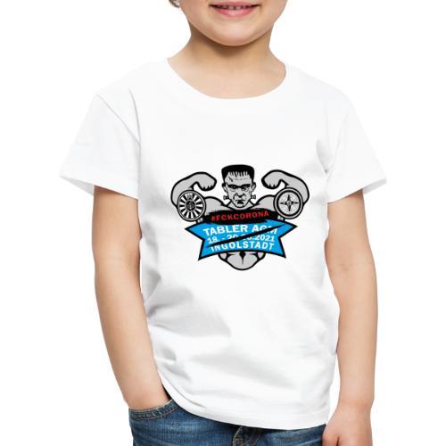 AGM 2021 Logo FCKCORONA 210406 - Kinder Premium T-Shirt