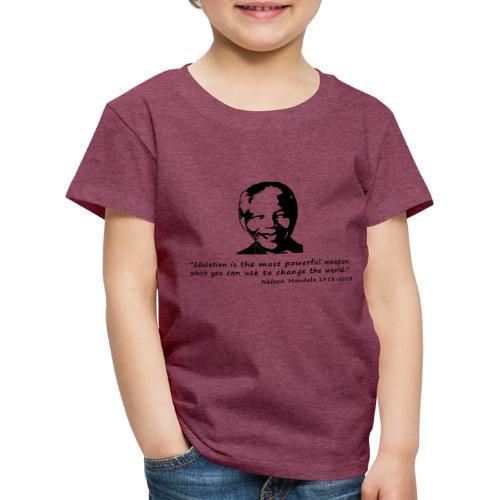 Nelson Mandela - Kinder Premium T-Shirt