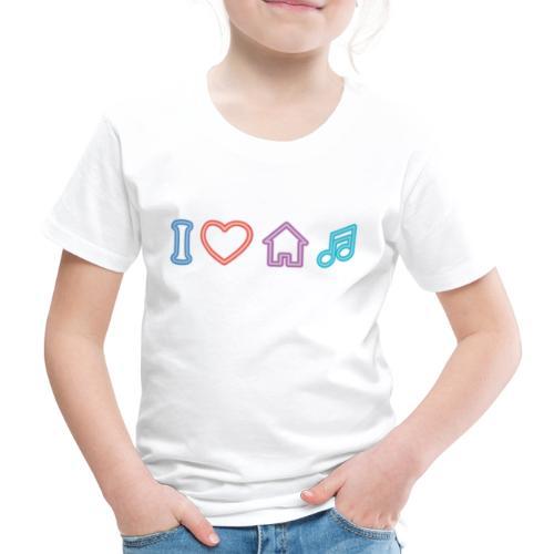 house music - Camiseta premium niño