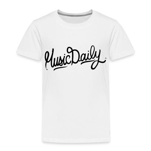 MusicDaily Logo - Kinderen Premium T-shirt