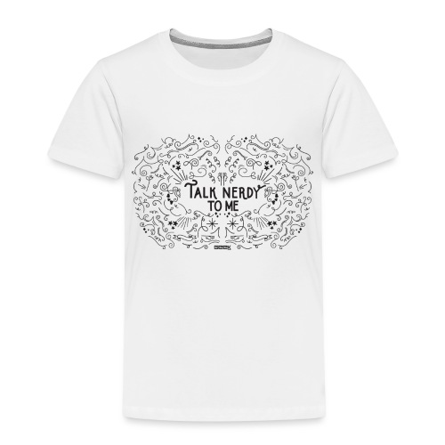 TalkNerdyToMe - Kinderen Premium T-shirt