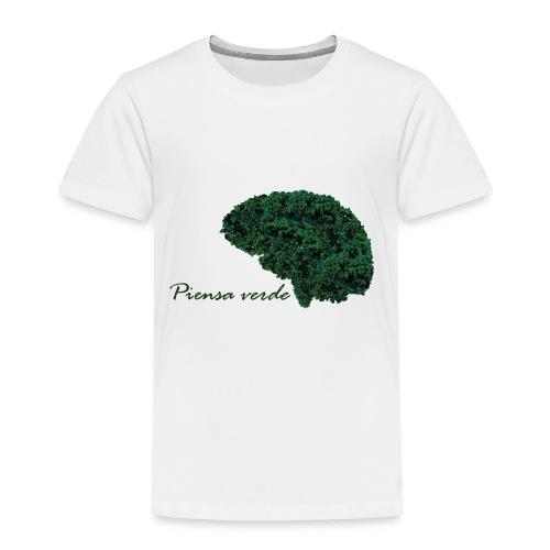 Piensa verde - Camiseta premium niño