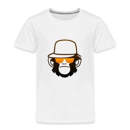 Aap Met Bril En Cap - Kinderen Premium T-shirt