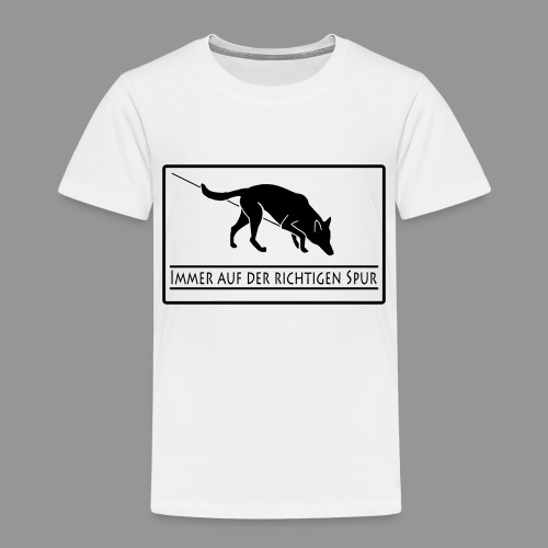 Fährtenhund - Kinder Premium T-Shirt