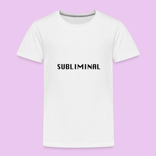 SUBLIMINAL LOGO - T-shirt Premium Enfant