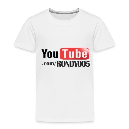 16482 2CYouTubecom RONDY005 - Kids' Premium T-Shirt