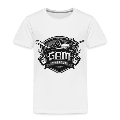 essai logo noir png - T-shirt Premium Enfant