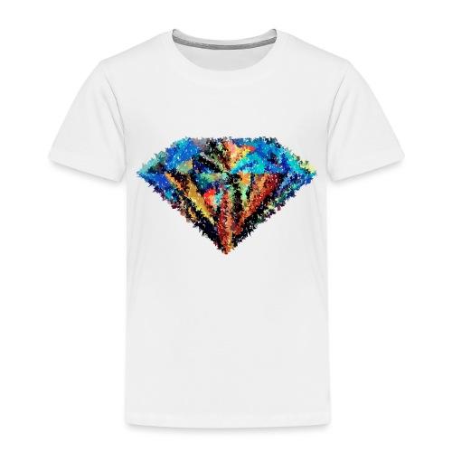 Diamant abstrait - T-shirt Premium Enfant