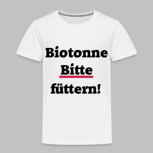 Biotonne - Bitte füttern! - Kinder Premium T-Shirt