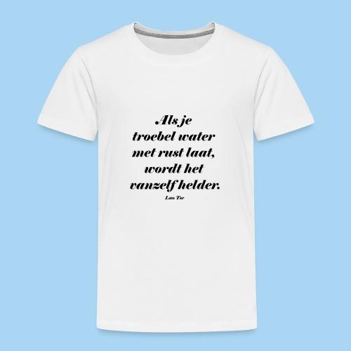 Troebel water - Kinderen Premium T-shirt