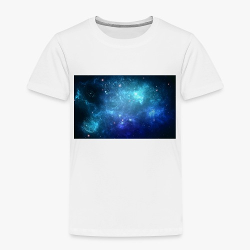 Blue galaxy wallpaper 31677 - Premium-T-shirt barn