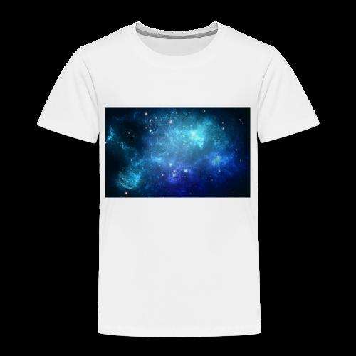 Blue galaxy wallpaper 31677 - Premium-T-shirt barn