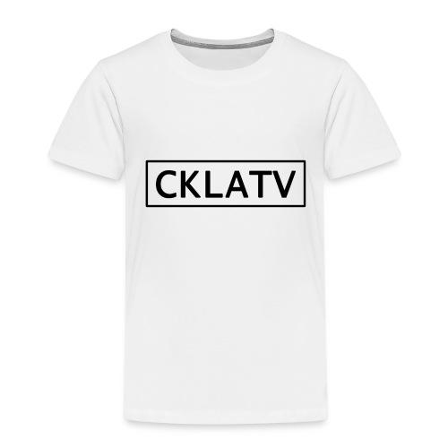 Black CKLAtv - Kids' Premium T-Shirt