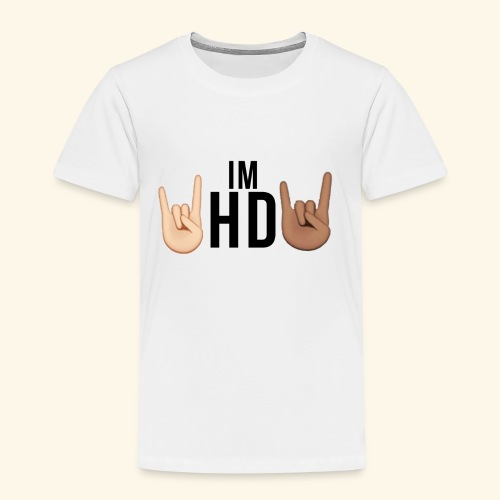 Im hd black logo - Kids' Premium T-Shirt