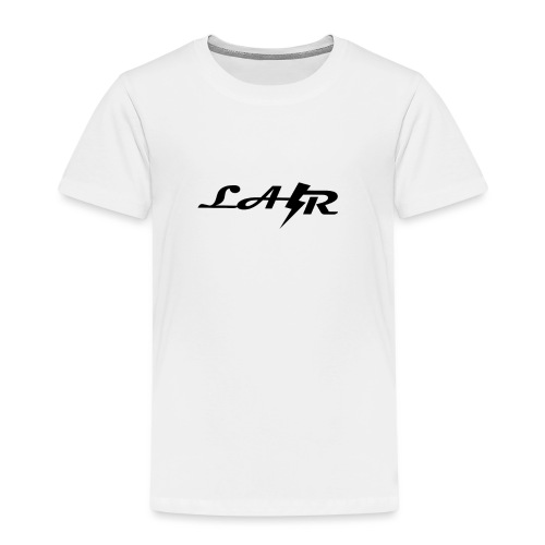 LaZr Lightning Bolt Text Logo - Kids' Premium T-Shirt