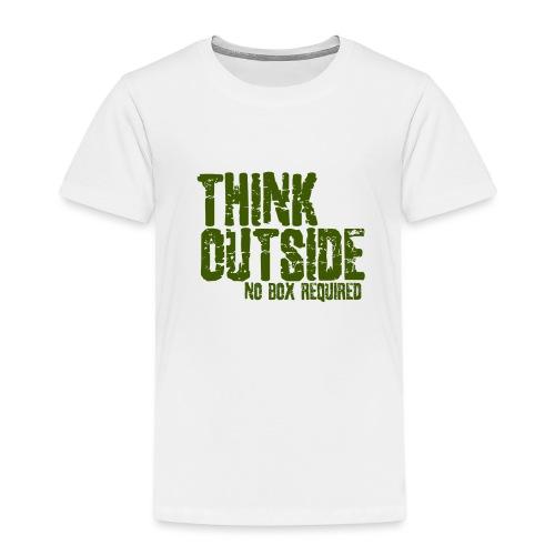 THINK OUTSIDE - Kinderen Premium T-shirt