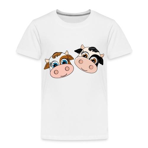 Dos Vaquitas - Camiseta premium niño