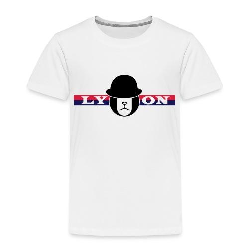 Motif Lyon + logo - T-shirt Premium Enfant