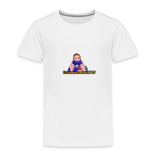 XxAndreCraftoxX - Maglietta Premium per bambini