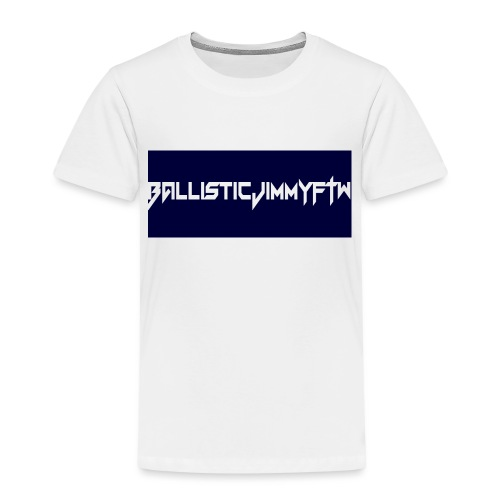 BallisticJimmyFTW Labelled Rectange White - Kids' Premium T-Shirt