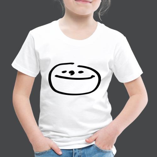 mondgesicht - Kinder Premium T-Shirt