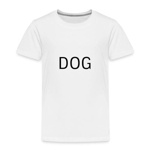 DOG, Hund - Kinder Premium T-Shirt