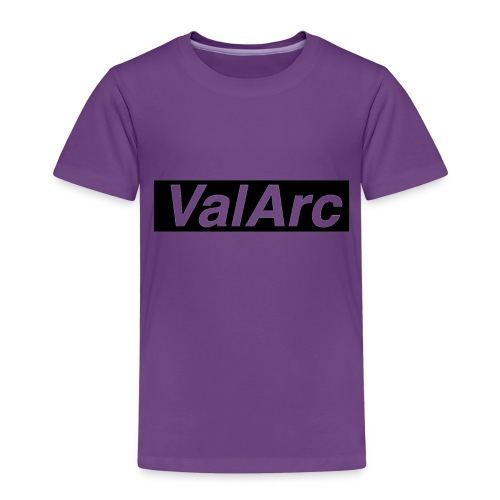 ValArc Text Merch Black Background - T-shirt Premium Enfant