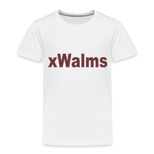 xWalms text Större - Premium-T-shirt barn