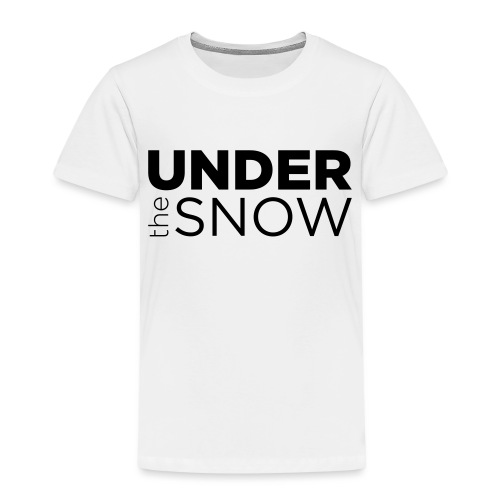 Logo Under The Snow - Maglietta Premium per bambini