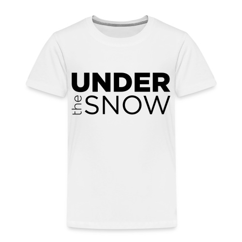 Logo Under The Snow - Maglietta Premium per bambini