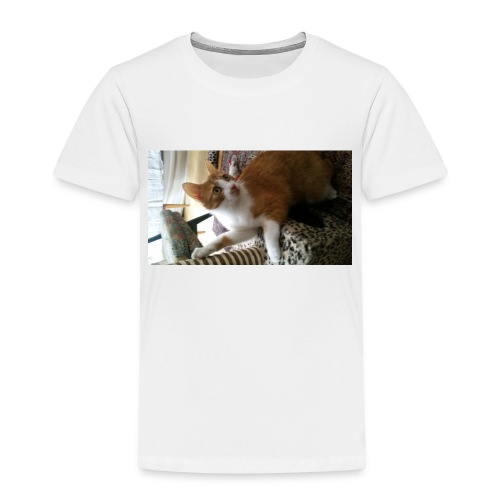 Speedy cat merch :) - Premium-T-shirt barn