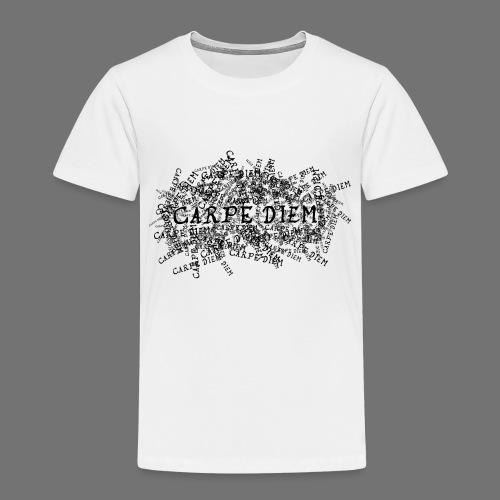 carpe diem (black) - Kids' Premium T-Shirt