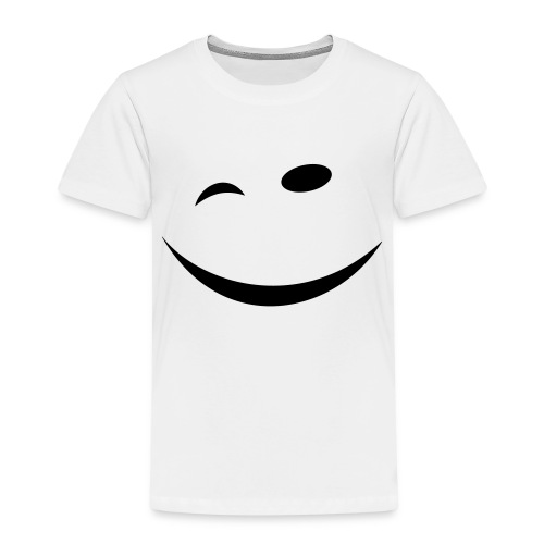 Zwinkersmiley - Kinder Premium T-Shirt