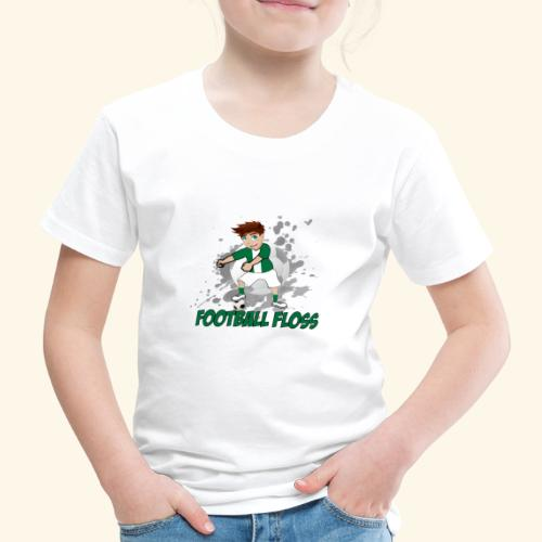 Hibees Football Floss - Kids' Premium T-Shirt