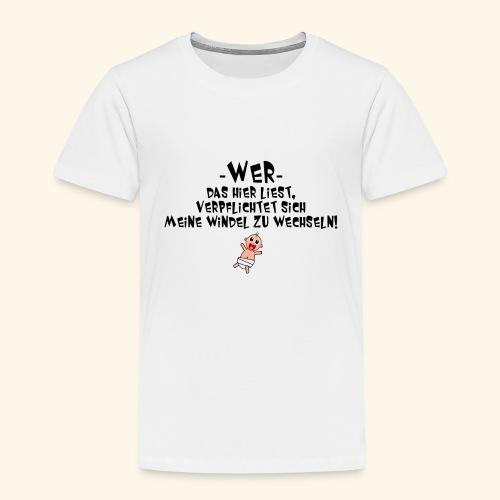 Windel - Kinder Premium T-Shirt