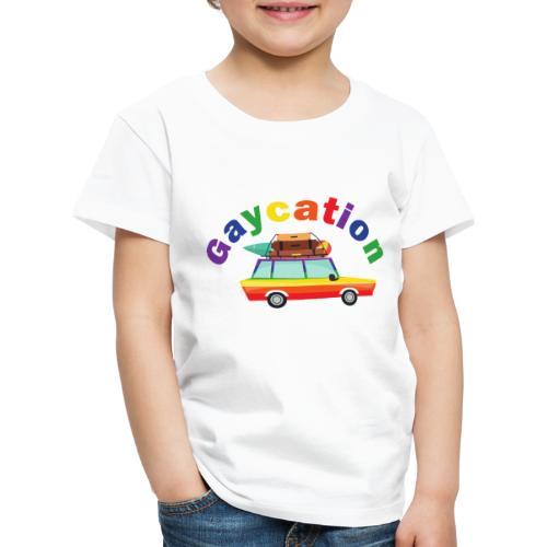 Gaycation | LGBT | Pride - Kinder Premium T-Shirt