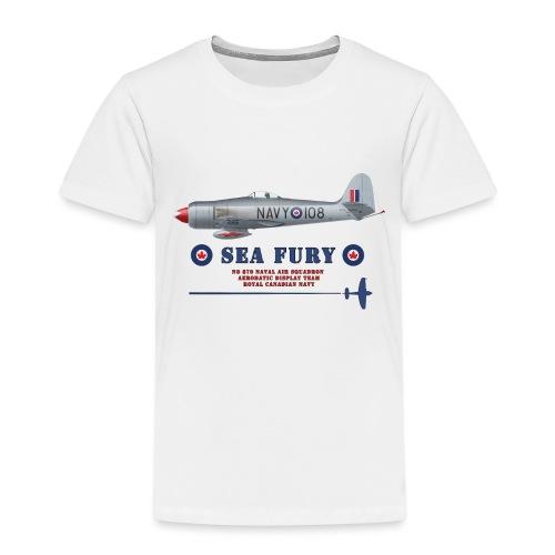 Sea Fury RCN - T-shirt Premium Enfant