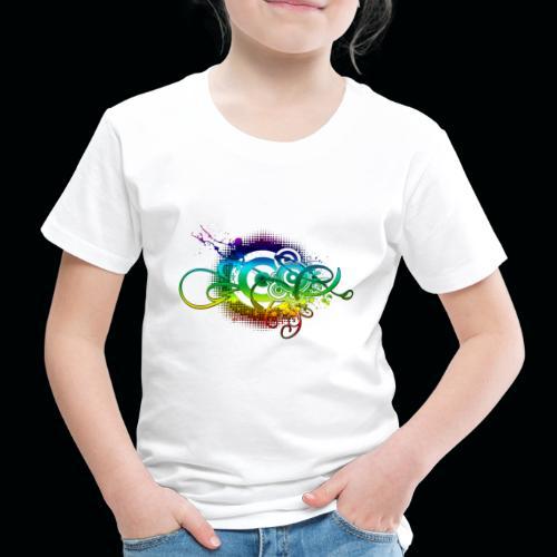 Abstract Music S Download Wallpaper - T-shirt Premium Enfant