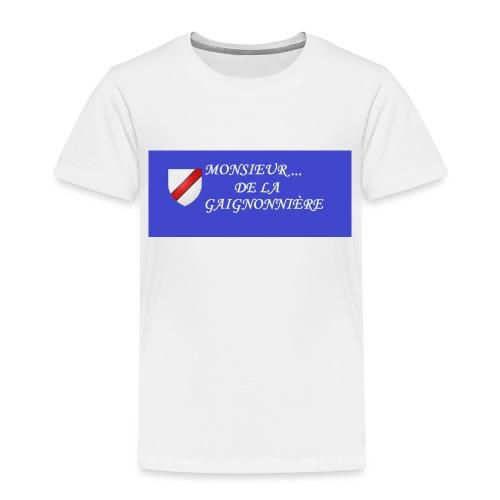 Du Reau_de_La_Gaignonnier - T-shirt Premium Enfant