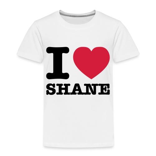 I love Shane - Kinder Premium T-Shirt