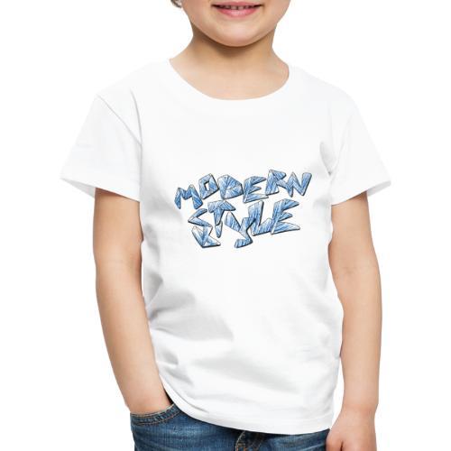 modern style - Maglietta Premium per bambini