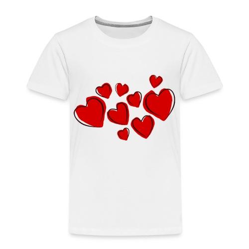 hearts herzen - Kinder Premium T-Shirt