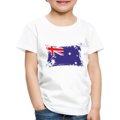 Australian Flag / Flagge Australien / Australia - Kinder Premium T-Shirt