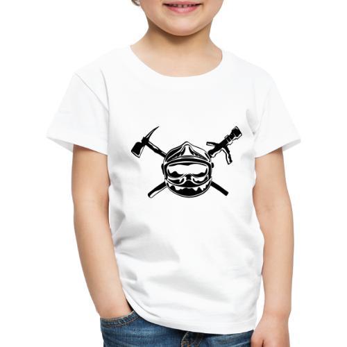 casque_pompier_hache et lance - T-shirt Premium Enfant