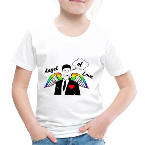 Angel of Love Regenbogen - Kinder Premium T-Shirt