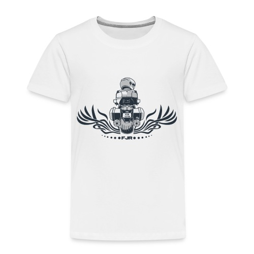 0852 fjr topkoffer - Kinderen Premium T-shirt
