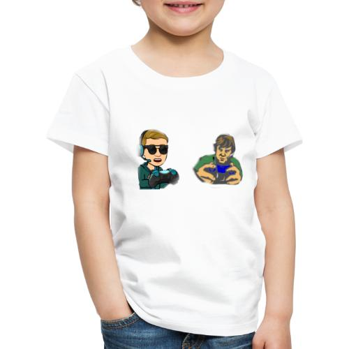 Merch Gamerlöru und Raphael Car man Zocken - Kinder Premium T-Shirt