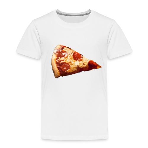 pizza con chorizo jamon y queso - Camiseta premium niño